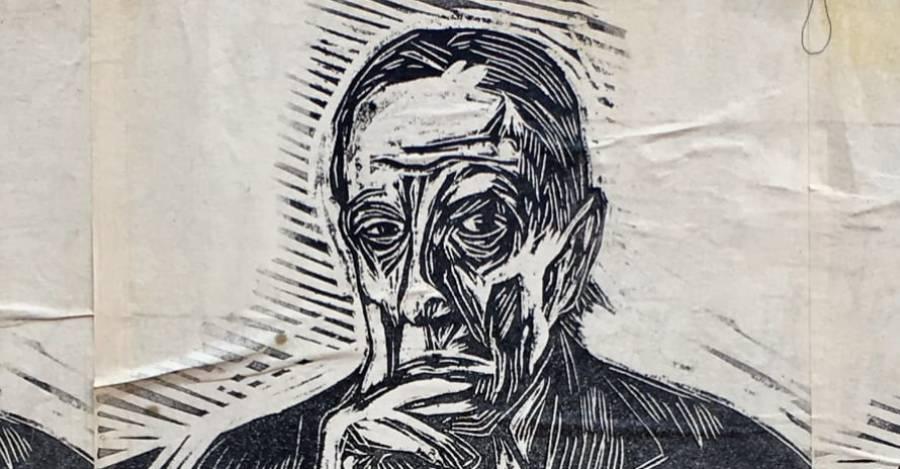 """""""Uribe tenía razón"""", stencil en torno a la Plaza de la Dignidad"""