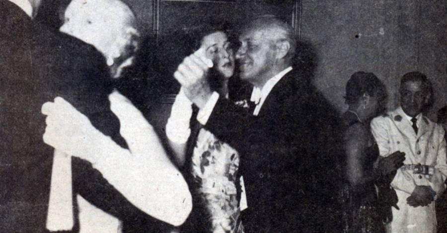 Bailando con la duquesa de Kent en el Palacio Cousiño