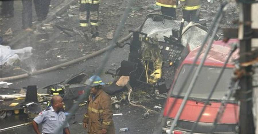 Accidente del General Bernales. Foto: AP