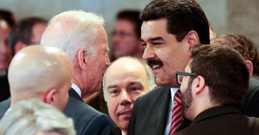 Esta foto ha sido muy usada por las teorías conspirativas.Fue tomada en Brasil en 2015 en una actividad protocolar cuando Biden fue vicepresidente de Estados Unidos.