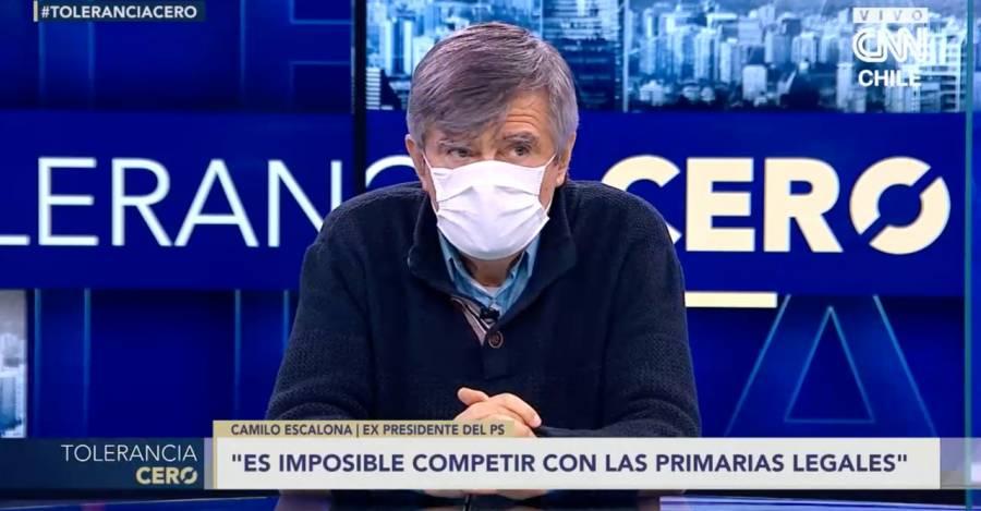 Camilo Escalona en Tolerancia Cero