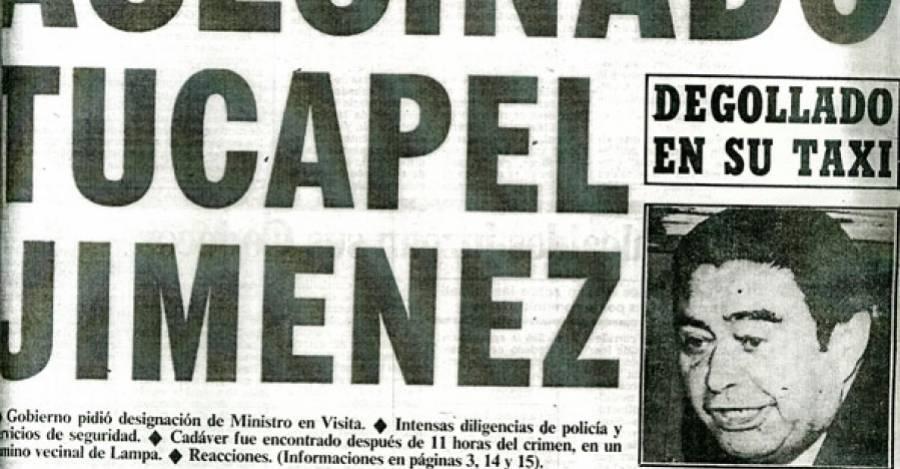 Portada de La Segunda del 26 de febrero de 1982.