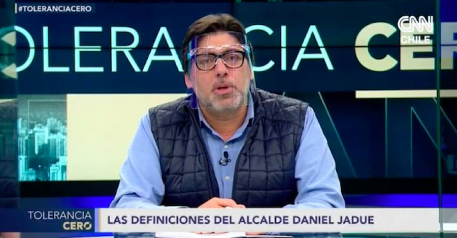 Daniel Jadue en Tolerancia Cero.