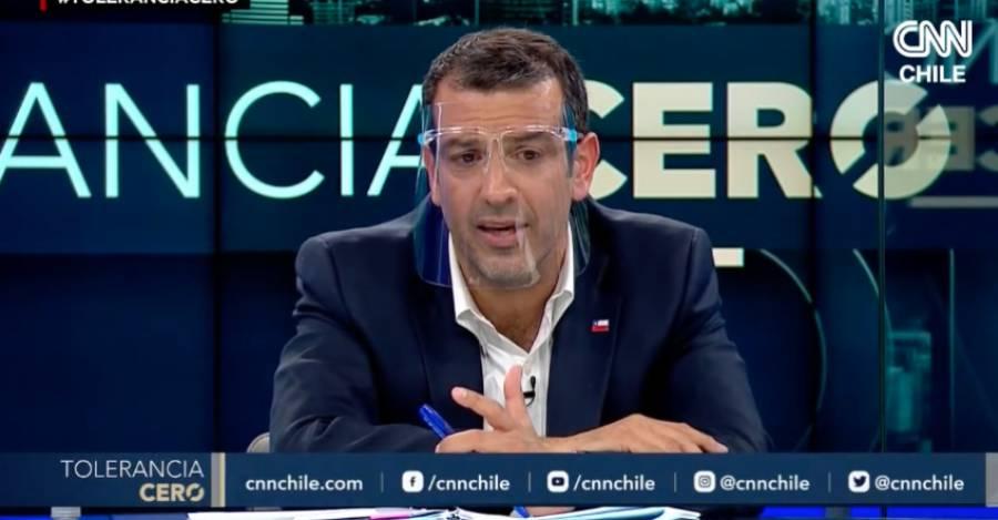 Captura: Programa Tolerancia Cero CNN Chile