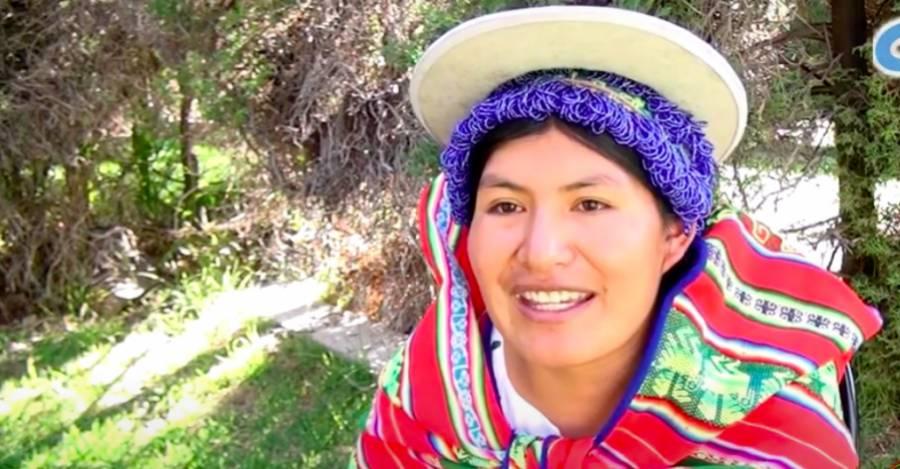 Elisa Vega Sillo - Captura del Diplomado en Dinámicas Decoloniales, Bolivia