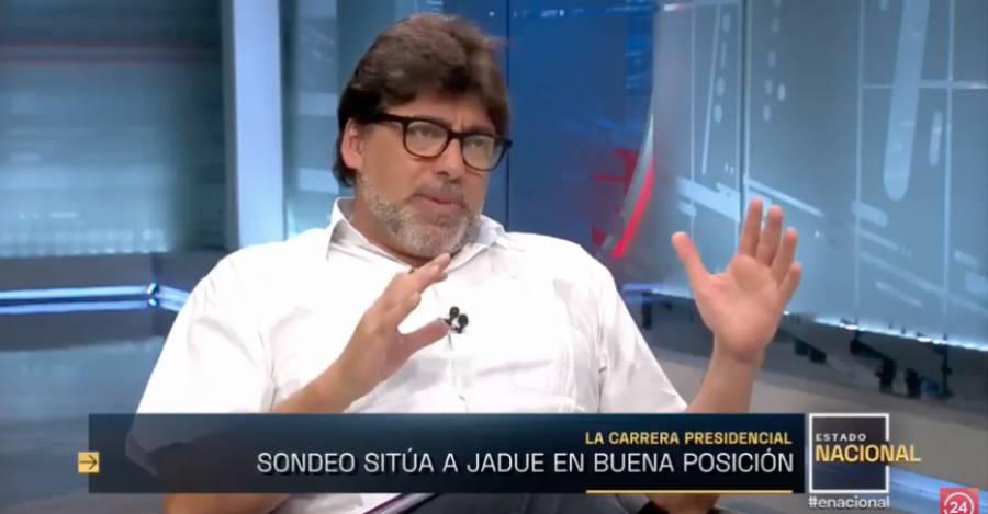 """Daniel Jadue en """"Estado Nacional"""" de 24 Horas TVN"""