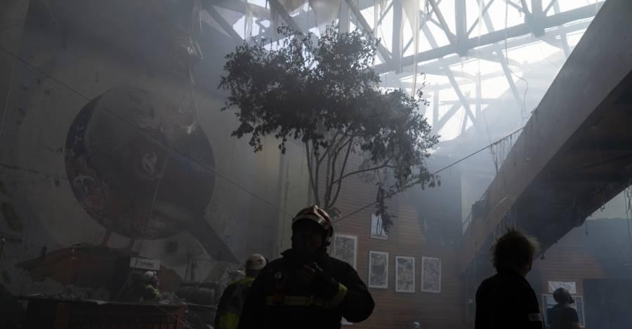 El Cine Arte Alameda luego del incendio. Foto: Javier Godoy