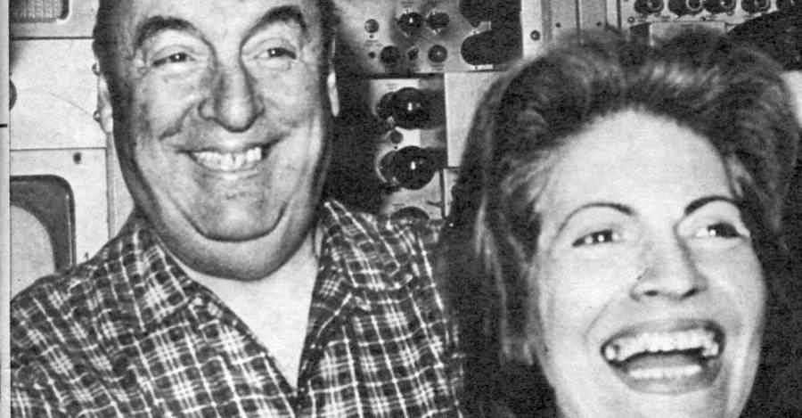 Neruda con Matilde Urrutia