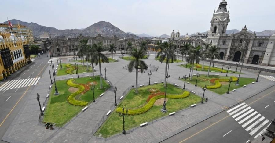 Lima en cuarentena. Foto: El Estímulo