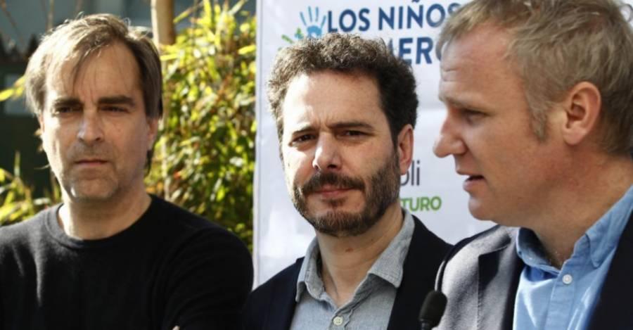 Luciano Cruz-Coke, Hernán Larraín Matte y Felipe Kast.