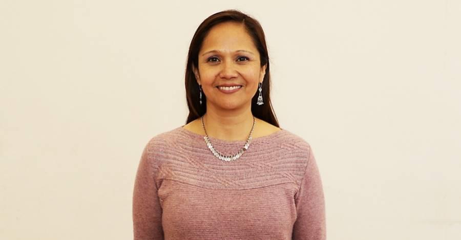 Verónica Figueroa Huencho. Fotografía: Senado Universitario de la Universidad de Chile