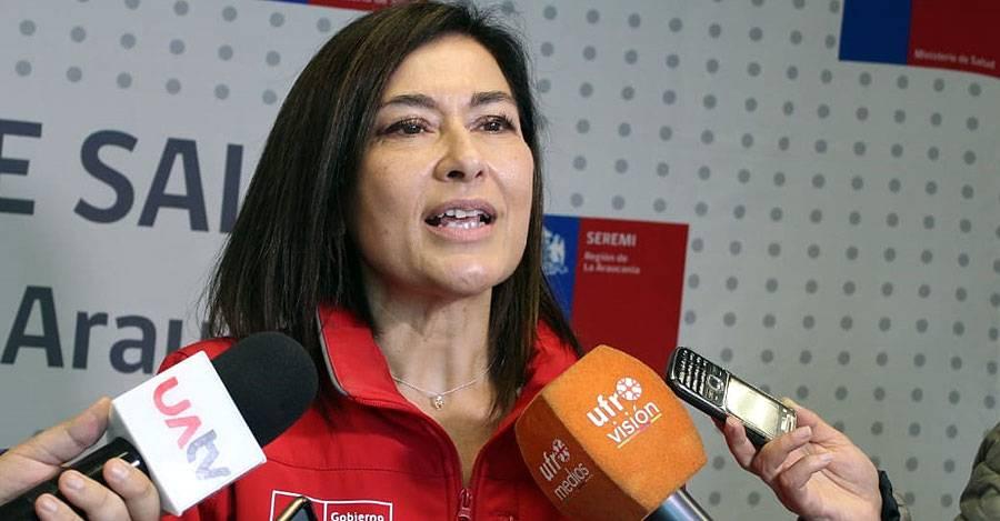 Seremi de Salud Katia Guzmán. Fotografía: Ministerio de Salud
