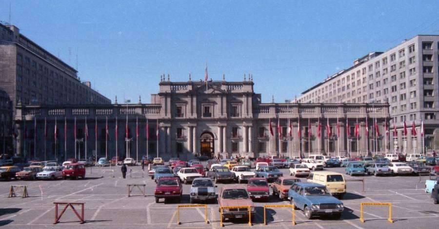 Palacio de La Moneda en 1981