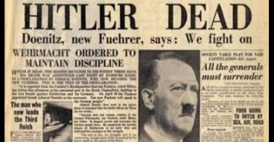La muerte del líder nazi