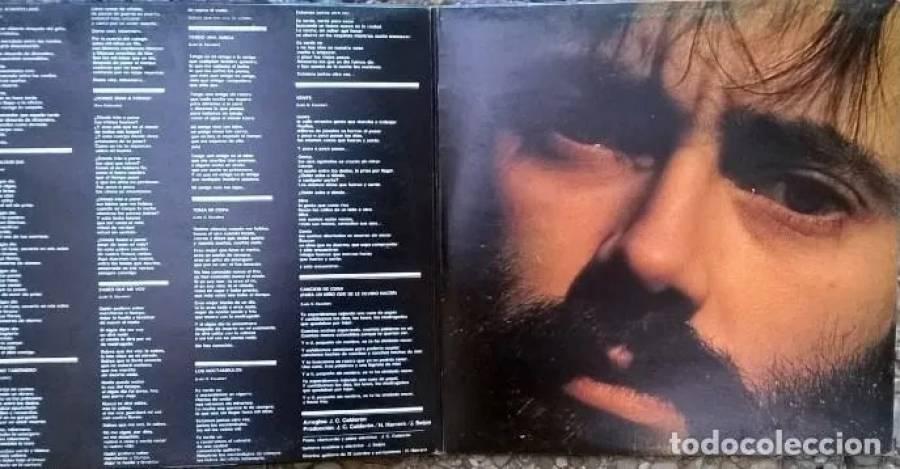 Simone (Luis Gómez Escolar). CBS. Spain 1974 LP + doble cubierta