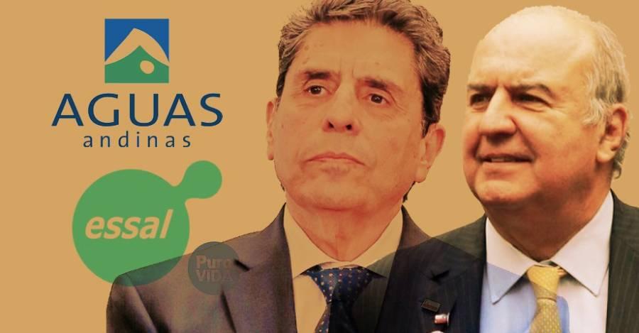 Mauricio Rojas y Luis Mayol, cercanos a Sebastián Piñera, nombrados por Corfo como directores de Aguas Andinas