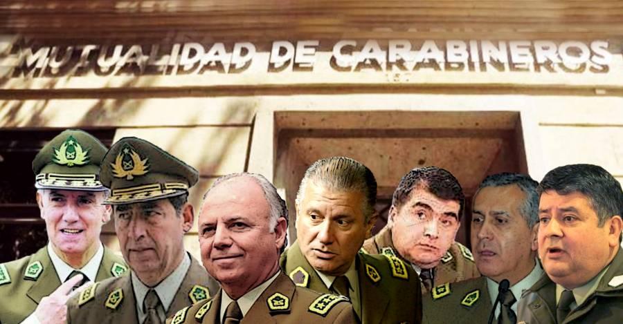 Alberto Cienfuegos, Bruno Villalobos, González Jure, Eduardo Gordón entre otros altos oficiales