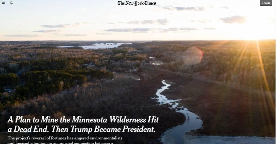 El artículo original de The New York Times
