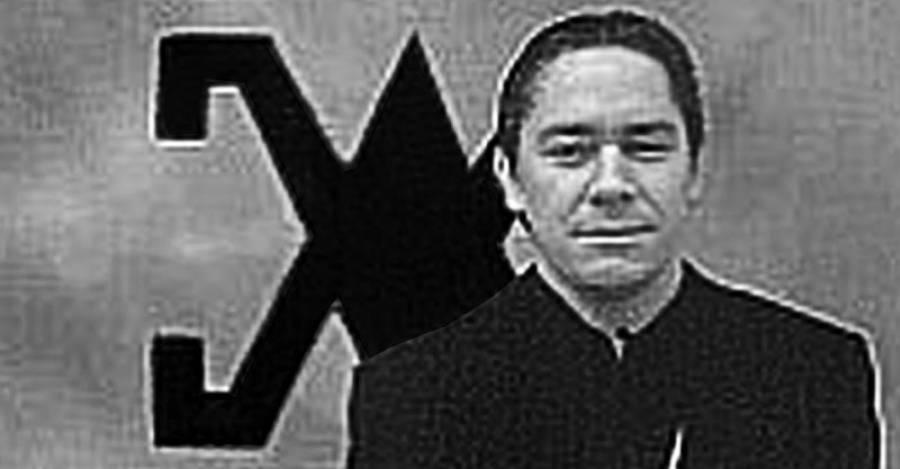 Un joven Pablo Rodríguez Grez, fundador de Patria y Libertad
