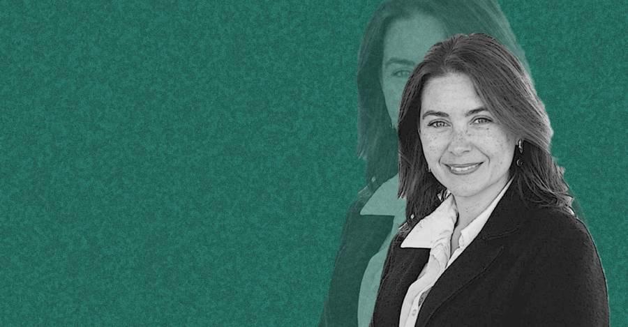 Lucía Dammert. Foto. Espacio Público. Montaje: Interferencia