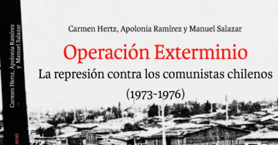 Portada de 'Operación Exterminio'