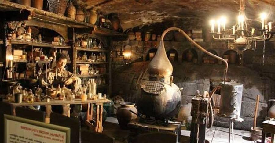 Preparación de perfumes en la Edad Media