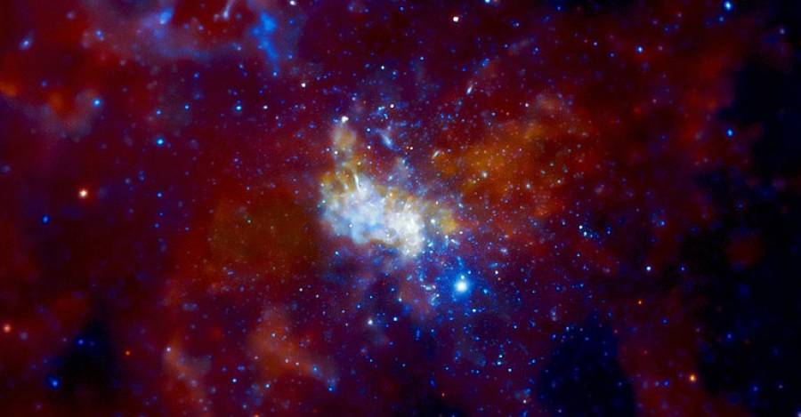 Fotografía: NASA/CXC/MIT/F. Baganoff, R. Shcherbakov et al.
