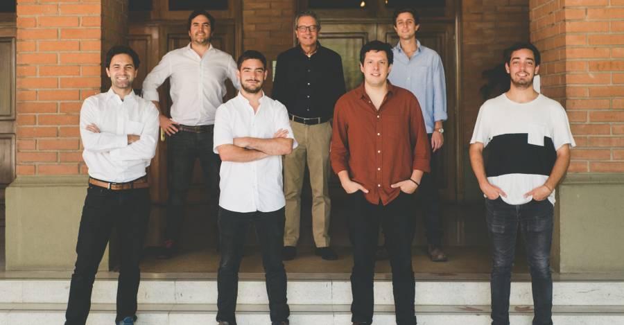 Francisco Moreno, Bernardo Fontaine y Felipe Hubner, Michael Comber, Tomás Guevara, Jaime Flores y Pablo Guevara. Foto: tabancurenos.cl