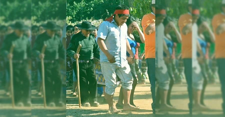 Werken (vocero) mapuche Alejandro Treuquil