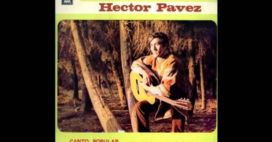 Uno de los discos de Héctor Pavez