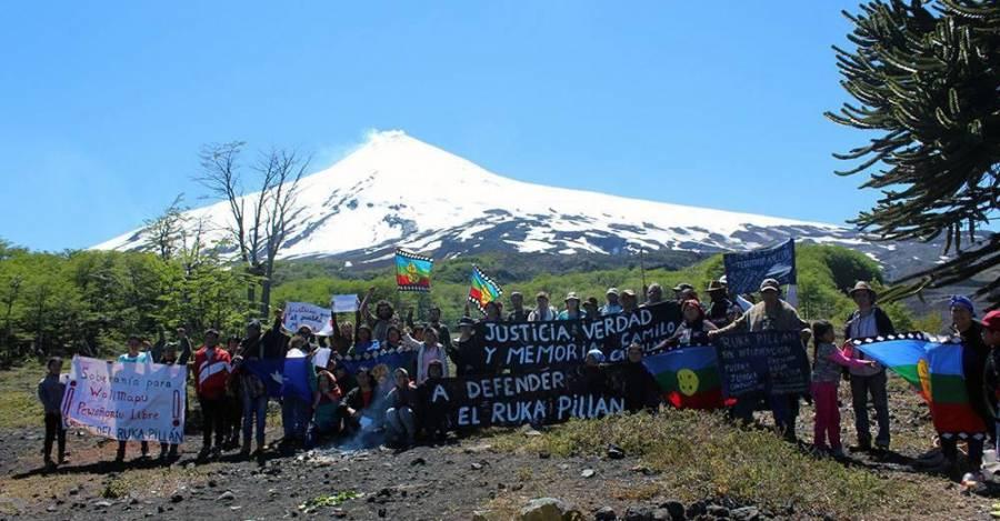 Mapuche defienden el 'Ruka Pillán'