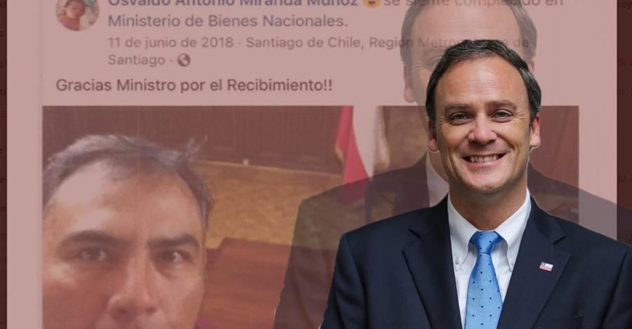 Felipe Ward, ex ministro de Bienes Nacionales y actual titular de Vivienda y Urbanismo