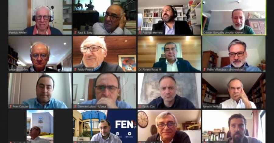 Reunión telemática entre U. de Talca y Cieplan. Fuente: Cieplan.org