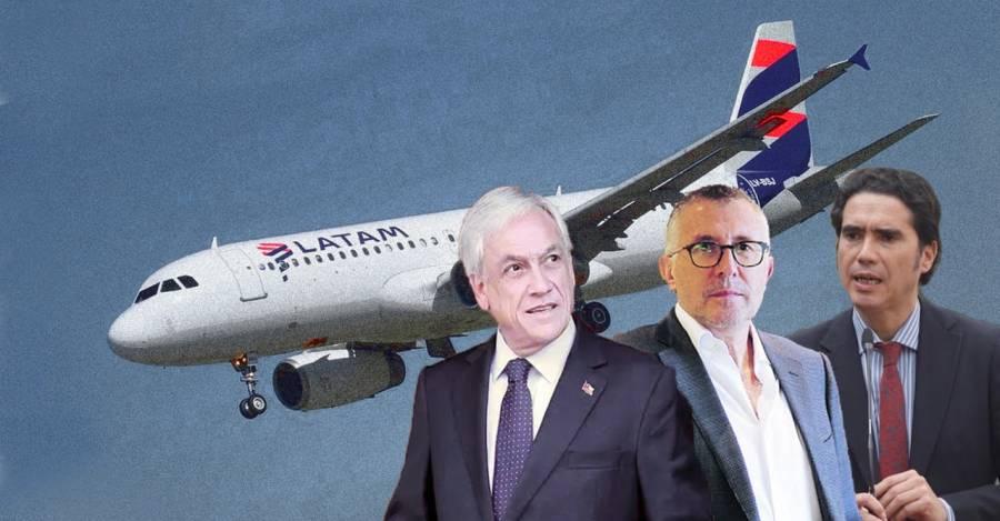 Sebastián Piñera, Enrique Cueto e Ignacio Briones.