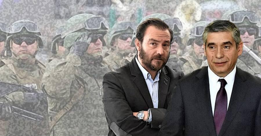 Patricio Marín y Gonzalo Blu.