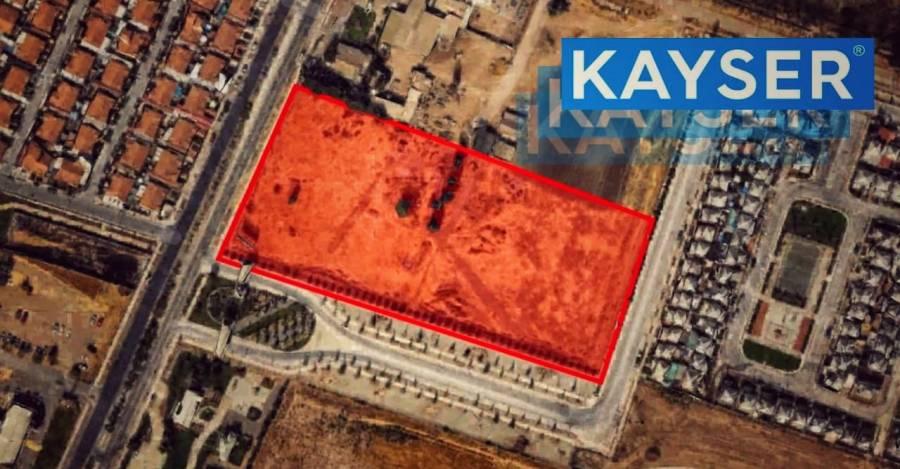 En rojo, el espacio de 17 mil metros cuadrados donde buscarán instalar proyecto