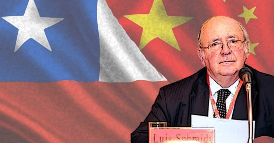 Luis Schmidt Montes, embajador chileno en China