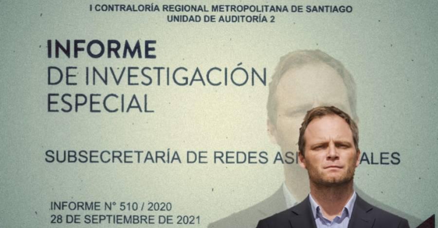 Informe de investigación de la CGR para gestión de ex subsecretario Zúñiga