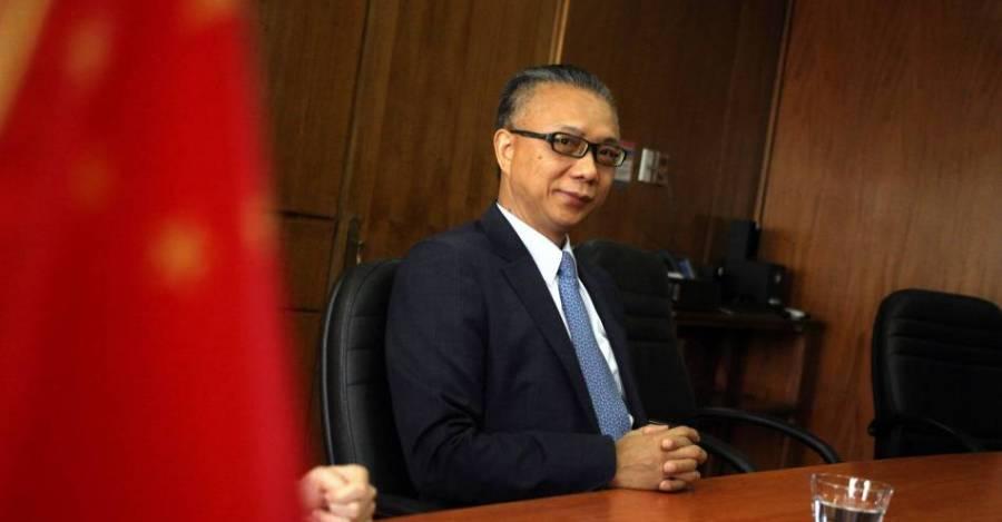 Xu Bu, embajador chino en Chile. Foto: Agencia Uno