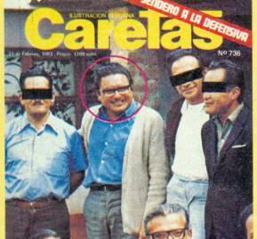 1983, una de las primeras fotos conocidas de Abimael.