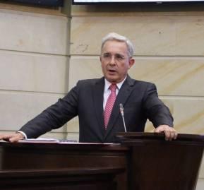Álvaro Uribe - Crédito: Centro Democrático.