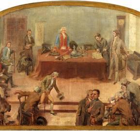'Primera Junta de Gobierno' (1889), de Nicolás Guzmán