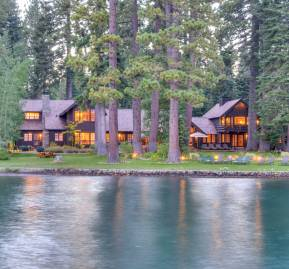 La casa de Zuckerberg en Lake Tahoe's West Shore