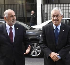 Jorge Abbott y Sebastián Piñera
