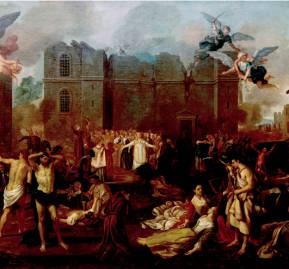 Alegoria ao Terramoto de 1755, João Glama Strobërle