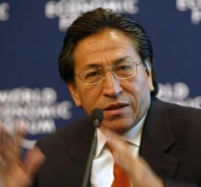 Alejandro Toledo, ex presidente de Perú. Foto: World Economic Forum