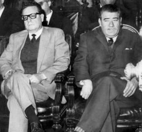 Salvador Allende y Aniceto Rodríguez compitieron por la candidatura presidencial del PS