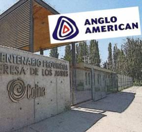 Anglo American donó 1.200 millones de pesos para la construcción del Liceo Bicentenaria Santa Teresa de Los Andes de Colina, inaugurado en marzo de 2013