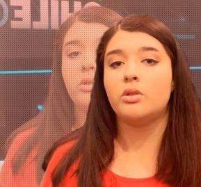 Ayelén Salgado, vocera de la Aces.