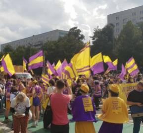 Una manifestación en Berlín a favor de expropiar a las inmobiliarias.